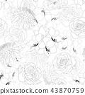 Rose, Chrysanthemum, Carnation, Peony Amaryllis  43870759