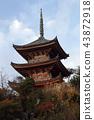 삼중탑, 국보, 겨울 43872918
