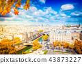 skyline of Paris, France 43873227