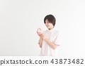 치과, 여성, 여자 43873482