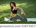 yoga,stretching,exercise 43873957
