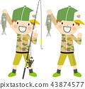 เด็กตกปลา 43874577