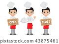 Set Man chef. 43875461