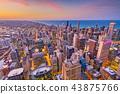 芝加哥 城市 市中心 43875766