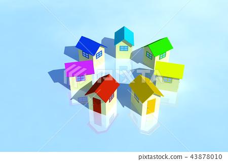 很多房子CG 43878010