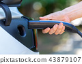 Charging an electric vehicle 43879107