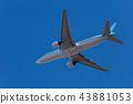비행기 이륙 43881053