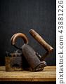 tool, rusty, iron 43881226