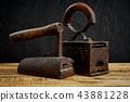 tool, old, iron 43881228