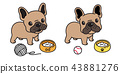 개, 강아지, 벡터 43881276