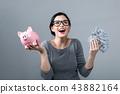 woman piggy pig 43882164