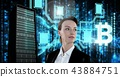 Woman Female Server 43884751