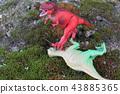 공룡의 생존 경쟁 이미지 43885365