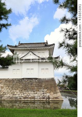 Southeast corner of Nijo Castle (Kyoto City) 43885891