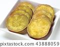 고구마, 덩이줄기 채소, 가을의 미각 43888059