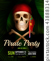 Pirate Party Realistic Poster 43888314
