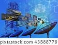 satellite dish antennas 43888779