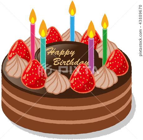 生日蛋糕 43889670