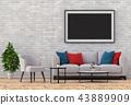 室内装饰 框架 边框 43889909
