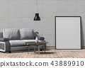 室内装饰 框架 边框 43889910