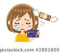 신용카드, 여성, 여자 43891600