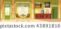 vector cafe background 43891816