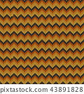 Geometric abstract knitted pattern. 43891828