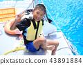 เพลิดเพลินกับการพักผ่อนทางทะเล 43891884