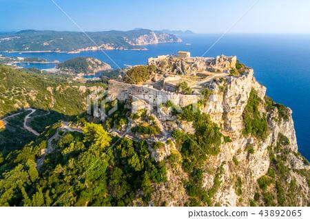Old ruins of Angelokastro fortress, Corfu, Greece 43892065