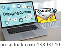 Engaging  CONTENT marketing Data Blogging  43893140