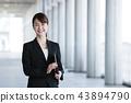 비즈니스 여성 사무실 비즈니스 우먼 43894790
