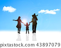 family, a, walk 43897079