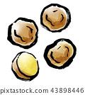 刷圖畫蔬菜土豆 43898446