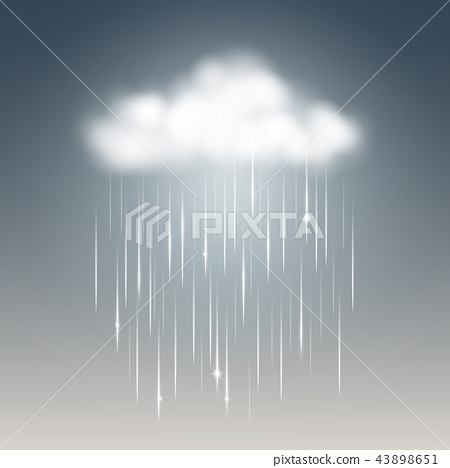 weather rainy cloud 43898651
