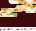 ญี่ปุ่น - พื้นหลัง - ฤดูใบไม้ร่วง - ใบไม้เปลี่ยนสี - ทอง 43899823