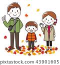 秋天的家庭 43901605