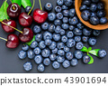 fresh blueberries 43901694