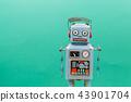 Vintage tin toy robot 43901704