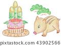 멧돼지, 산돼지, 해 43902566