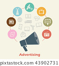 advertising concept 43902731