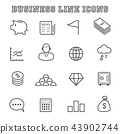 business line icons 43902744