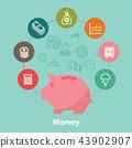 money concept 43902907