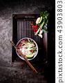 Traditional Vietnamese soup Pho Bo 43903803