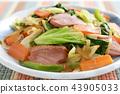 炒蔬菜 43905033