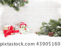 Christmas snowman and sledge toys, gift  43905160