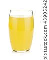Glass of lemon juice 43905242