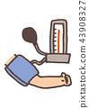 血壓 測量 醫療和醫學 43908327