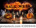 halloween, autumn, pumpkin 43909446