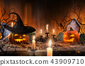 halloween, autumn, pumpkin 43909710