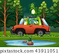 trip, crocodile, alligator 43911051